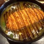 91767467 - カツカレー蕎麦
