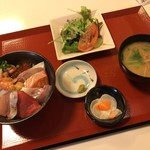 國枝鮮魚店 - 海鮮丼膳1280円