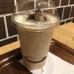 commoncafe - ◆コーヒースムージー(420円)・・こちらは提供まで少しお時間がかかりました。 上に生クリームがタップリ盛られていて、これは想定外でした