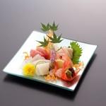 松葉寿司 - お造り盛り合わせ