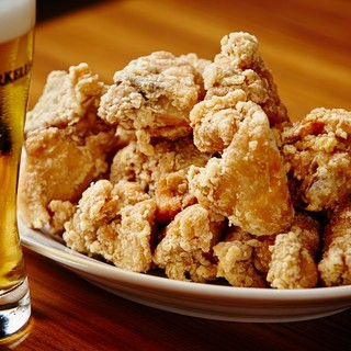 ビールによく合う料理を追及した「但馬鶏の唐揚げ」