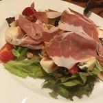 Osteria TiaLoca - 生ハムといちぢくのサラダ