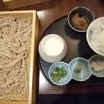 Suigen - ざるそば定食大・900円