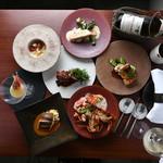 フレンチレストラン ソン・スクレ - ある日のコース