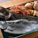フレンチレストラン ソン・スクレ - 北海道直送の魚介