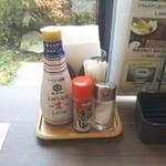 Live Kitchen 美楽亭 - ステーキ用に粗挽き黒胡椒あったら良いなあ