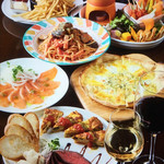 cafe&bar AREA1 - イタリアンコース