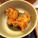 鶏三和 - 塩唐揚げ(小さいので一個おまけ)¥60