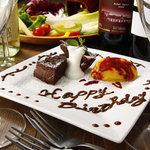トムズキッチン - 誕生日・記念日のプレートサービス!サプライズもおまかせ下さい!