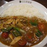 カレーハウスCoCo壱番屋 - (2011/7月)「チキンと夏野菜カレー」