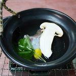 なか安 - H30.秋コース(松茸土瓶蒸し)
