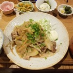もがめ食堂 - 生姜焼き定食