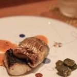 お料理 とみやま - 身の厚い太刀魚