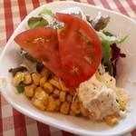 アリスカフェ - サラダ