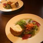 91783602 - サラダ:美味しい、パン:素人っぽい。HB?