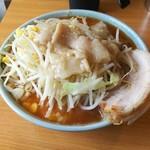 ラーメン二郎 - プチ二郎(辛いヤツ)。¥730
