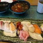 播磨水産 - 料理写真:満腹寿司ランチ