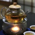中国精進料理 凛林 - ドリンク写真:ジャスミンティーは温められています