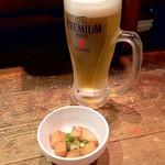 shodaiuomaru - ビール&お通し