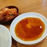 久御山 塩元帥 - 餃子のタレ。