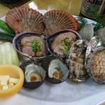 新島水産 - 磯焼きコース(二人分)