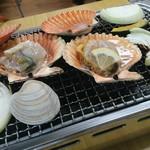 新島水産 - ヒオウギ貝・他