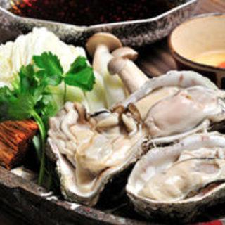 【これからのシーズンに◎】生牡蠣のすき焼きコース