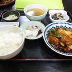 中国料理 大徳 - 酢豚定食