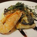 トラットリア ラ・スカルペッタ - ⑩魚介の香草オーブン焼き