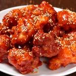 韓国料理 豚肉専門店 福ブタ屋 - ガーリックしょうゆチキン
