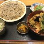 名水手打そば処 大草 - 料理写真:選べるセット(天丼)