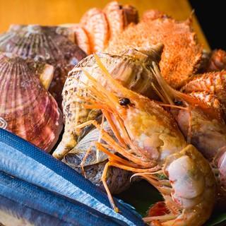 食材には徹底的にこだわりを…四季を味わう旬のものをご提供