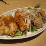鼎泰豐 - 鶏肉の唐揚げユウリンソース 756円