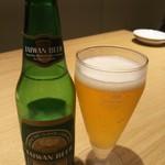 鼎泰豐 - 台湾ビール(瓶) 692円