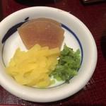 江戸川 - お漬物