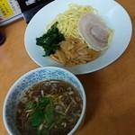 華丸 - つけ麺+ザーサイのせご飯(麺類注文サービス)670円
