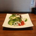 魚とカレーのお店 - ランチサラダ