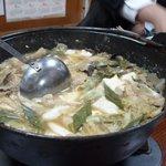 居酒屋こむら - 料理写真:馬肉鍋