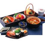 由良川 - 由良は常連様に大人気!この内容で1480円!