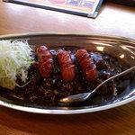 ターバンカレー - ウインナーカレー(中)・・・¥650