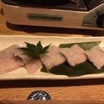 和食と炭火焼 三代目 うな衛門 - しゃぶしゃぶ用の鰻