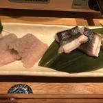 和食と炭火焼 三代目 うな衛門 - 皮目は鰻そのもの