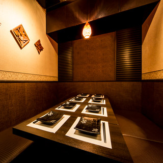完全プライベート個室をご用意!上野でのご宴会・デートなどに♪