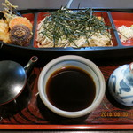 末ひろ - 天ざる蕎麦(全景)