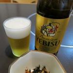 末ひろ - 瓶ビール(エビス)