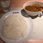 91803076 - キーマカレーとライス(980円)