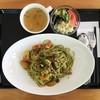 カフェふれんず - 料理写真:週替わりパスタランチ(650円)の大盛り(+200円)