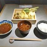 天ぷらスタンドKITSUNE - KITSTUNE天ぷら定食 980円