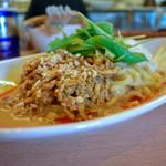 中華そば 呵呵 - 汁なし担々麺