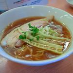 中華そば 呵呵 - 醤油(細麺)